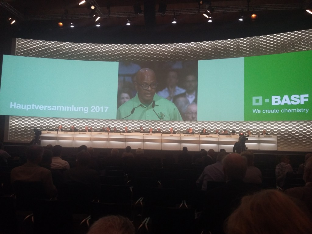 Mathunjwa/AMCU: Speech: BASF AGM 2017, Manheim, Germany